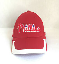 Nike Philadelphia Phillies MLB Baseball Hat Cap Stretch Fitted Red, White Blue