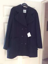 Moschino Ladies Trench Coat, Black, Size 14, Bnwot