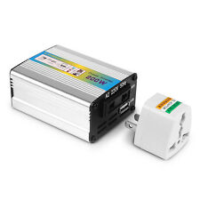 DC 12V to AC 220V Car Auto Power Inverter Converter Adapter 200W USB Charger