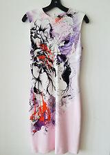 Roberto Cavalli Sleeveless Kimono Floral-Print Dress, Orig:$995.00 Size 40IT/4US