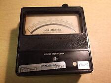 Sensitive Research Milliamperes Gauge Meter 10208001 *Free Shipping*