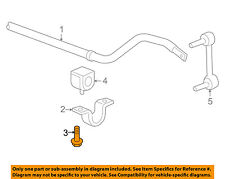 GM OEM Stabilizer Sway Bar-Front-Stabilizer Sway Bar Bolt 11518294