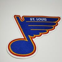 St Louis Blues Hockey NHL Patch VTG Vintage Large
