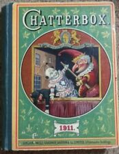 CHATTERBOX 1911 Jester Puppet London 1st Edition J Erskine Clark Good Condition