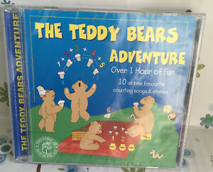Jack in the Box : The Teddy Bears Adventure (1998) CD *BRAND NEW FACTORY SEALED*