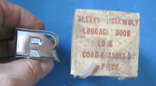 NOS 1960 Ford Fairlane and 500 luggage door lock chrome R