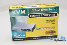 Nuevo-ATI corega 2-Port KVM monitor switch 2pcs - > 1mon-d660-90027-001