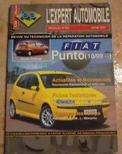 revue technique l'expert automobile l'ea N°392 FIAT PUNTO + FICHES TECHNIQUES