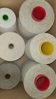 17,8 kg Garnpaket Baumwolle, Hanf   und  Leinengarn naturfarben  Konengarn