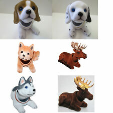 Bobbing Head Animal Car Dash New Toy Bobbing head Dog Moose (6pcs set)