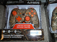 PLAYSTATION RANGE Power A Realtree Pro Wireless PS3 Controller Xtra CAMO ORANGE