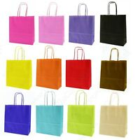 Strong Paper Party Gift Bags With Handles - Children's Birthday Party Loot Bag *