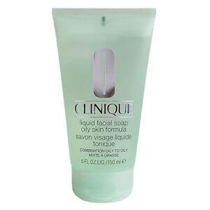 Clinique Liquid Facial Soap Oily Skin Formula, 5oz/150ml - SEALED