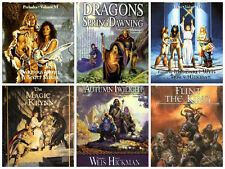20 audiobooks - The DragonLance Book Series b Margaret Weis Mp3 DVD Dragon Lance