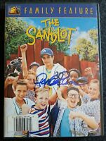 Pat Patrick Renna THE SANDLOT HAND SIGNED COVER AUTOGRAPHED DVD INSIDE RARE