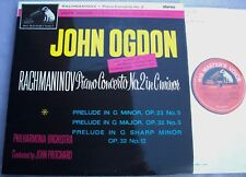 ASD 492 RACHMANINOV Piano Concerto 2 JOHN OGDON UK EMI Nipper Semi-Circle 2nd