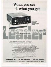 1972 Leader LDM850 Solid State Digital Multimeter Test Equipment Vtg Print Ad