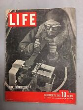 LIFE MAGAZINE DECEMBER 29, 1941 US AERIAL GUNNER FIRST PICTURES OF JAPAN ATTACK