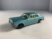 Lesney Matchbox 1968 Regular Wheels #53 Ford Zodiac Mk Iv | Black Plastic Wheels