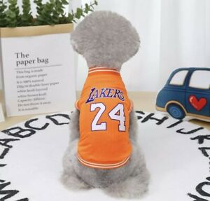 Pet Dog Clothing Basketball Jerseys