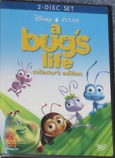NEW 2 Disc DVD Disney Pixar A Bug's Life Factory Sealed MIB  Free Shipping !