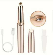 Eyebrow Hair Remover Facial Hair Epilator,USB Charging Electric Trimmer with Box