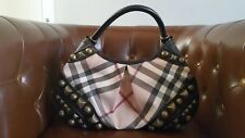 Burberry Supernova canvas alverton studded hobo Bag