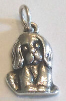 ❤RETIRED JAMES AVERY PUPPY or Your DOG CHARM 925 Sterling Silver Rare EUC & HTF❤