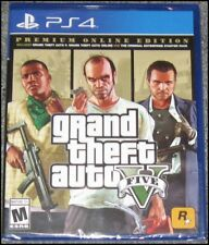 New listing Grand Theft Auto V: Premium Online Edition - Sony PlayStation 4 - Ps4 - New