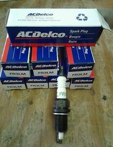 AC DELCO SPARK PLUGS NOS FR3LM IN ORIGINAL BOX (8 PLUGS) 5614040