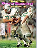 1973 (9/17) Sports Illustrated,Football magazine,Larry Csonka,Miami Dolphins~GdW