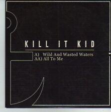 (CV676) Kill It Kid, Wild And Wasted Waters - 2011 DJ CD