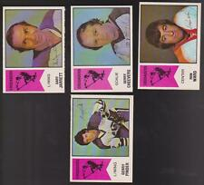 1974 O-PEE-CHEE WHA Team SET Lot of 4 Cleveland CRUSADERS NM Gerry CHEEVERS