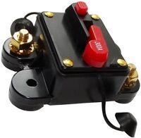 300A 12V 24V 32V 48V fusible automatique disjoncteur 78x52x37mm IP67 ampli auto
