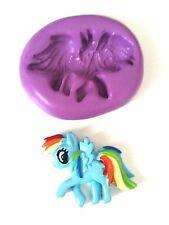 Mi Pequeño Pony Silicona Molde Sugarcraft Fondant Glaseado herramienta de modelado Fimo