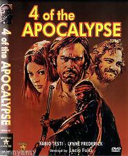 Fulci - 4 of the Apocalypse - Tomas Milian Fabio Teste - Spaghetti Western DVD
