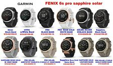 GARMIN FENIX 6S ALL MODELS PRO SAPPHIRE SOLAR .. CHOOSE THE BEST