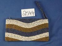 Nr.2544 Geldbeutel aus Bali Clutch Damentasche Kosmetiktasche Abendtasche
