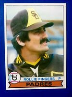 1979 Topps # 390 Rollie Fingers San Diego Padres