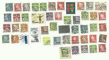 Denmark postage stamps x 48