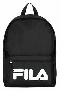 FILA NEW MEN WOMEN KIDS School Backpack Rucksack Black Red White
