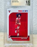 Coby White 2019 Panini Hoops #204 Rookie RC Graded BGS 9.5 - Chicago Bulls