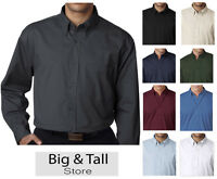 Big & Tall Men's UltraClub Dress Shirt 2XL - 6XL 2XLT