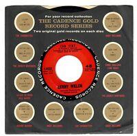 Lenny Welch 1962 Cadence 45rpm Ebb Tide b/w Congratulations, Baby NM+ Doo~Wop