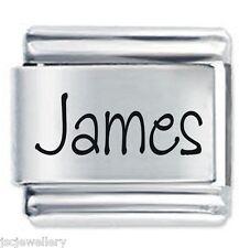 JAMES Nome - Daisy Charm da JSC Fits Classic Size Italian Braccialetto Ciondoli