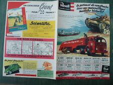 rare dépliant 4 pages - Supplément au Journal de TINTIN n° 46 du 14 novemb. 1956