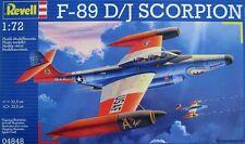 KIT REVELL 1:72 DA MONTARE AEREO F-89 D/J SCORPION ART 04848
