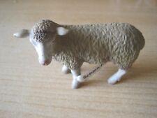 Schleich 13283 Schaf stehend mit Fahne RAR *NEU*  Bauernhof Tiere Farm
