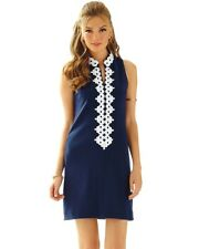 Lilly Pulitzer Callista Shift Dress True Navy Size M