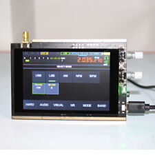 50K~2GHz DSP Malachite Receiver SDR Radio 3.5Inch LCD Screen With Shielding Case